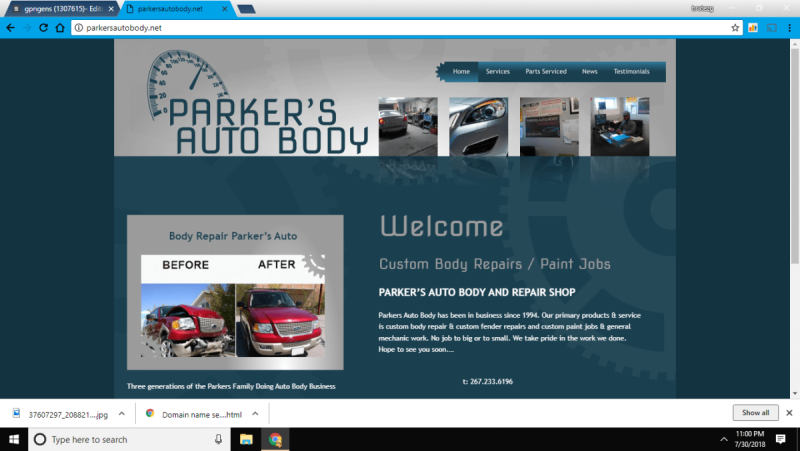 Parkers Auto Body