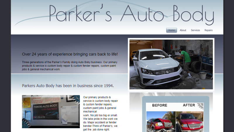 Parkers Auto Body Repairs