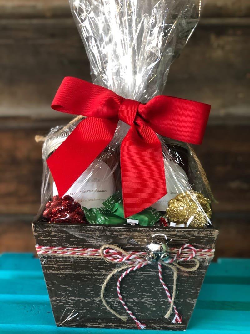 Christmas Gift Basket for just $18.