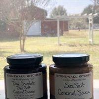 Sea Salt Caramel and Dark Chocolate Sea Salt Caramel Sauces