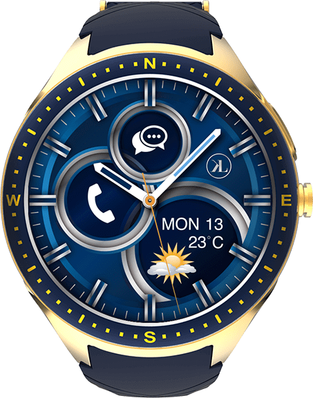 LOOK WATCH ,The most elegant IoT Smartwatch for Safety & Health Wellness