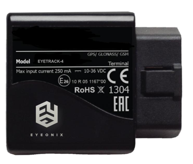 EYETRACK-4 , Vehicle model