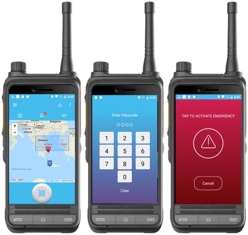 Multi Mode LTE + DMR /UHF/VHF Terminal Radio