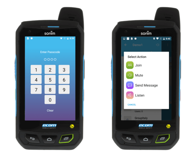 Intrinsically safe smartphone.An ultra-rugged,  LTE / WiFi / Android™ smartphone,