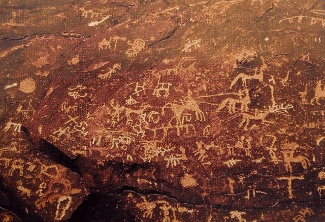 12 000 years of Rock Art in the desert
