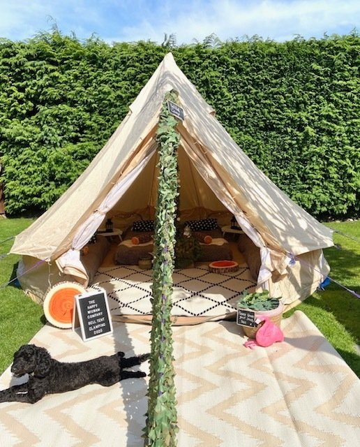 Wild Camp - sleeps 4