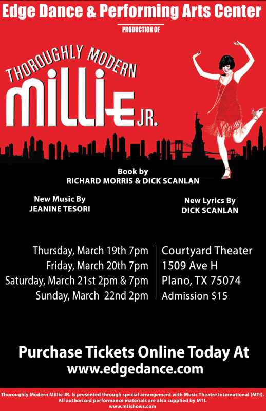 Purchase Tickets For Millie Jr!