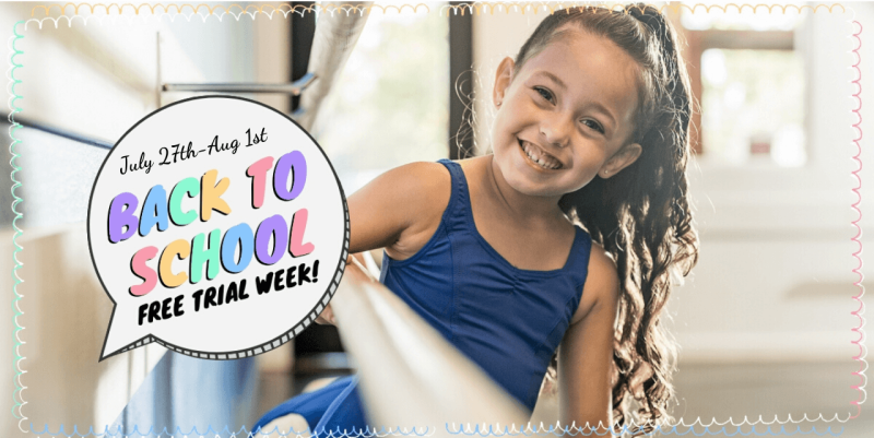 Back To School Free Trial Week Of Classes (Aug 24th-29th)