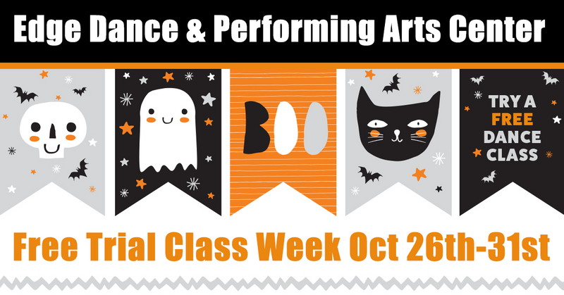 Spooktacular Free Trial Week Of Classes (Oct 26th-31st)