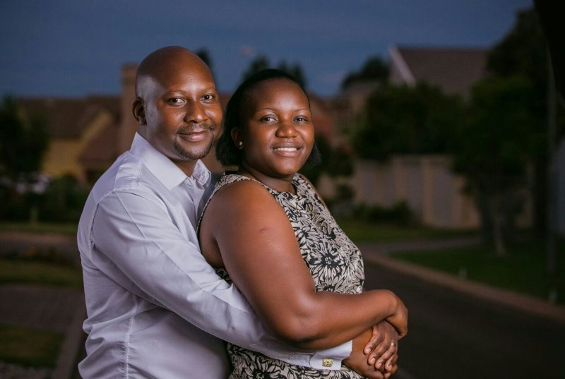 Pastor Blessing and His Wife