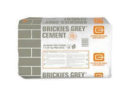 BRICKIES GREY CEMENT 17.85kg
