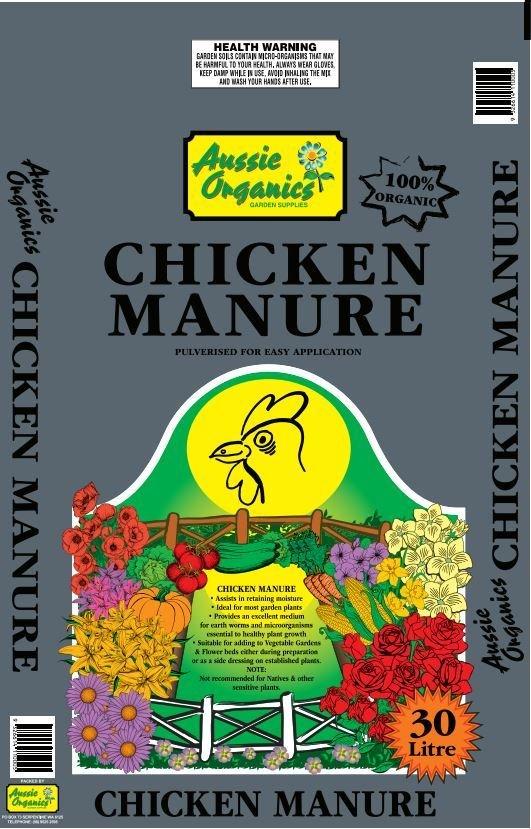 CHICKEN MANURE 30l