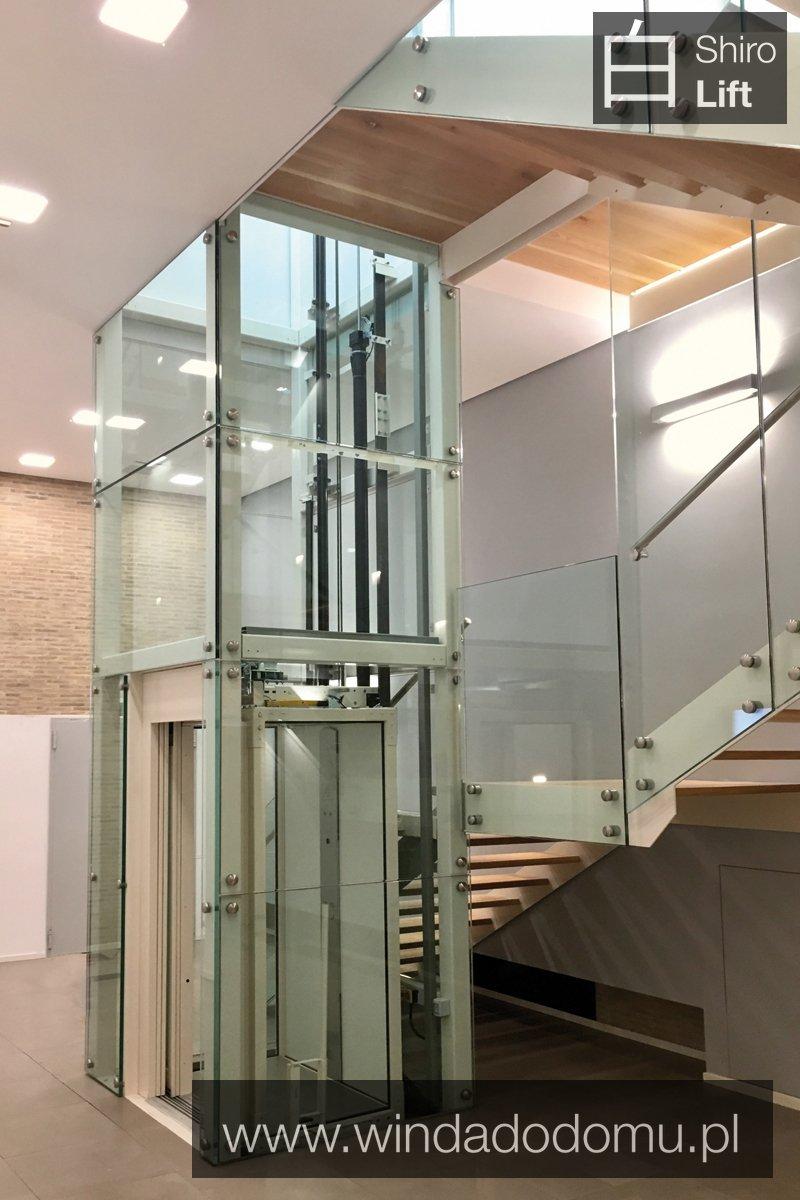 winda do domu z napędem hydraulicznym