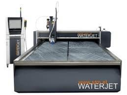 Wasserstahlschneidanlage