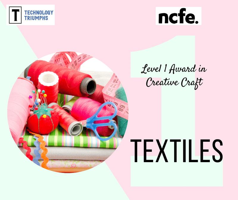 Level 1 Award in Creative Craft Textiles