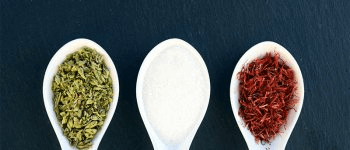Herbs and spices instead of salt