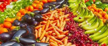 Fruit, vegetables and wholegrains
