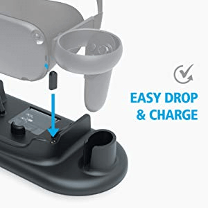 Easy drop & charge