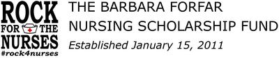 Barbara Forfar Nursing Scholarship Fund