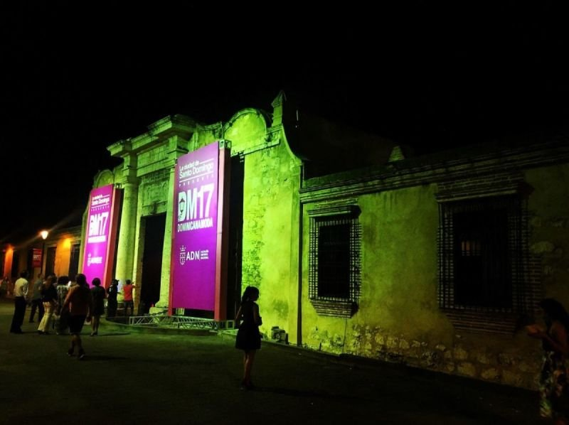 Zona Colonial in Santo Domingo at Night by Jack Loomes
