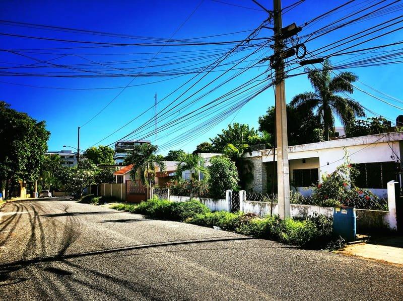 Photo of a Santo Domingo Streetscape by Jack Loomes