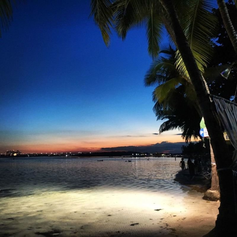 Boca Chica Sunset, photo by Jack Loomes