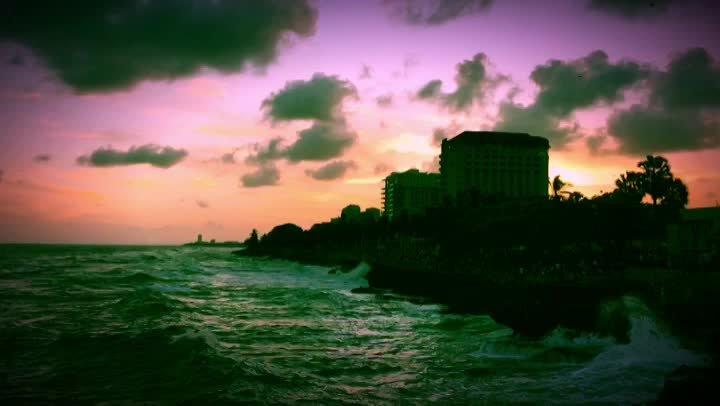 The Shoreline in Santo Domingo, Dominican Republic. Photo by Jack Loomes