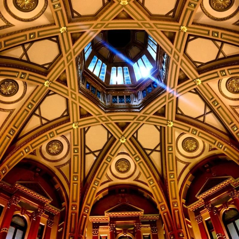 Beautiful Ceiling by Jack Loomes