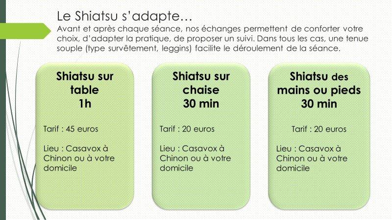 Shiatsu en pratique