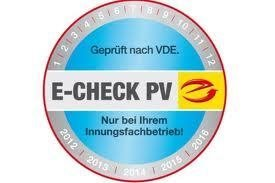 Photovoltaik - E-CHECK PV_Anlagen...wir sind Ihr zuverlässiger Partner für Wartung, Service und Betriebsüberwachung