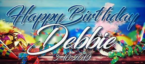 A Birthday Celebration For Debbie