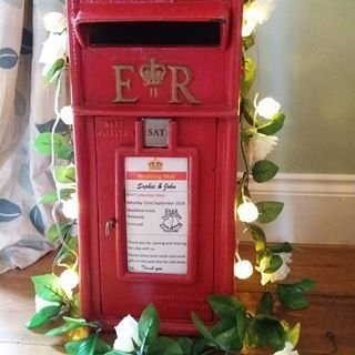 Vintage Red Post Box