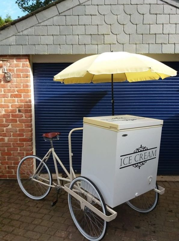 Vintage Ice Cream Bike