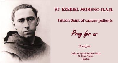 Novena to Saint Ezekiel Moreno