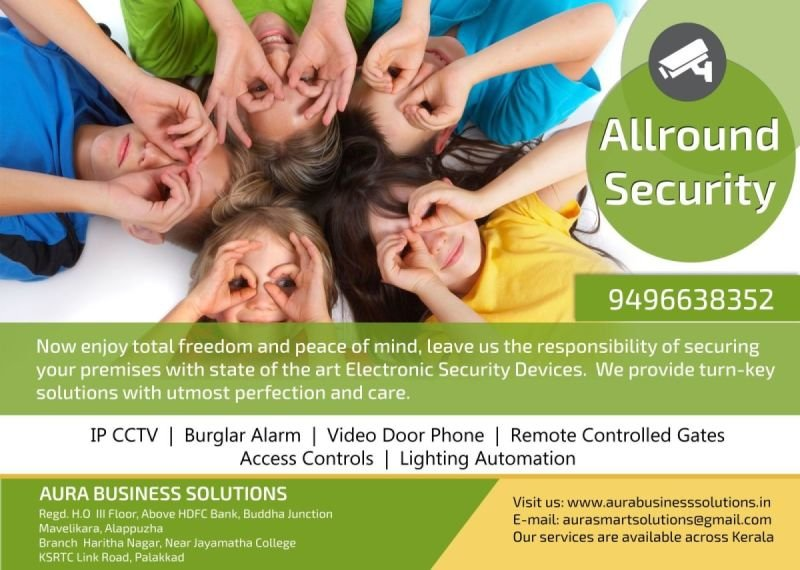 CCTV Installation Pathanamthitta - AURA BUSINESS SOLUTIONS
