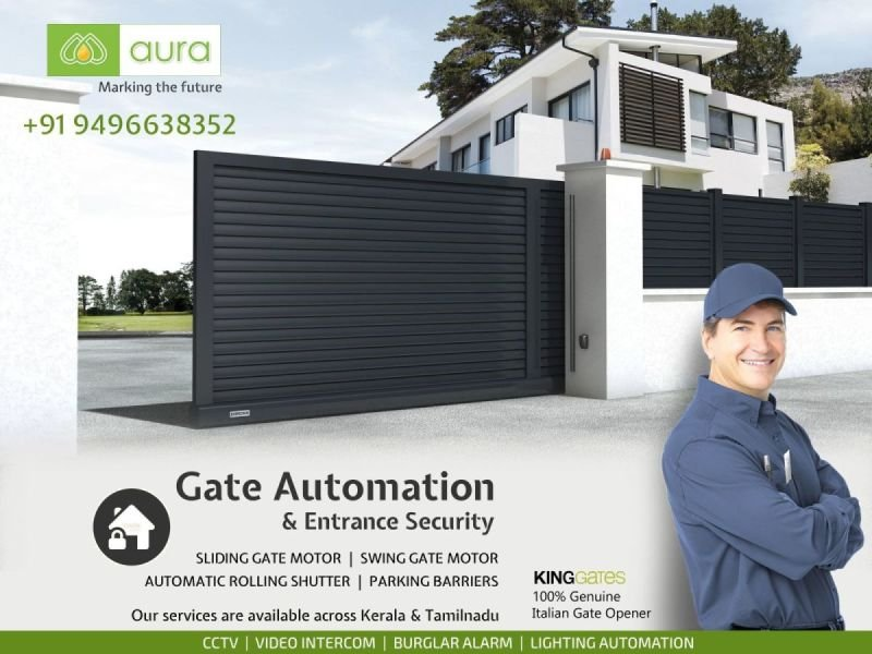 Gate Automation Companies in Kerala - Aura Business Solutions