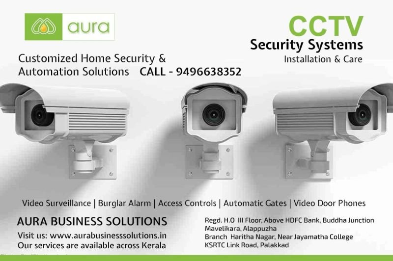 CCTV Remote Gates EPABX Automation - Aura Business Solutions