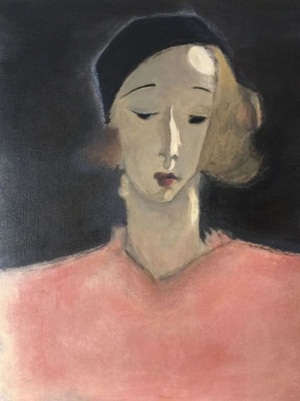 'Girl With Beret' (copy)