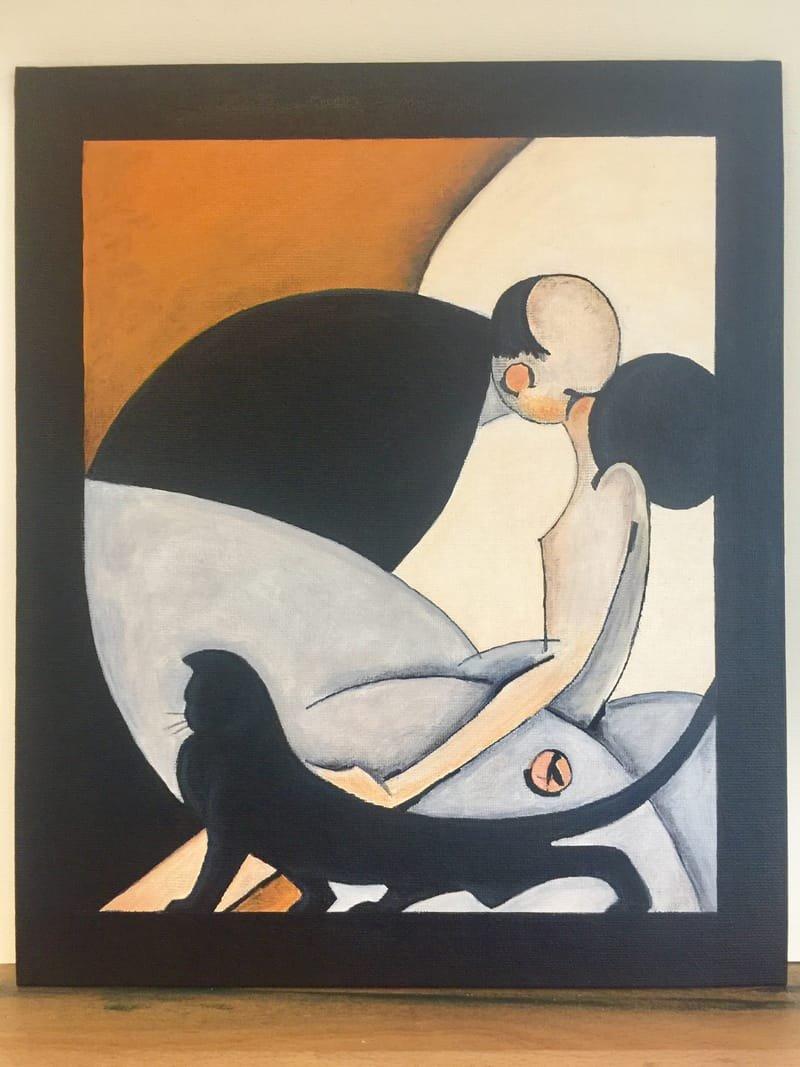 'The Kiss' 1925 (copy)