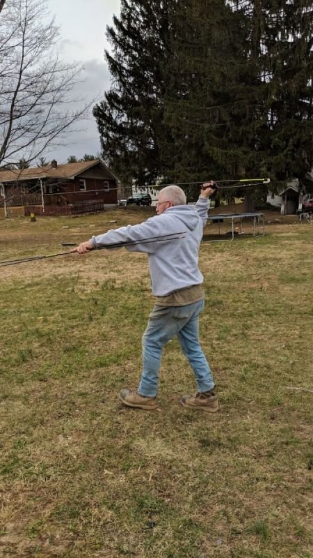 Throwing the Atlatl - Victor Adhearne