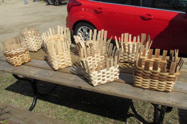 Black Ash Gathering Baskets -Tim Ewert