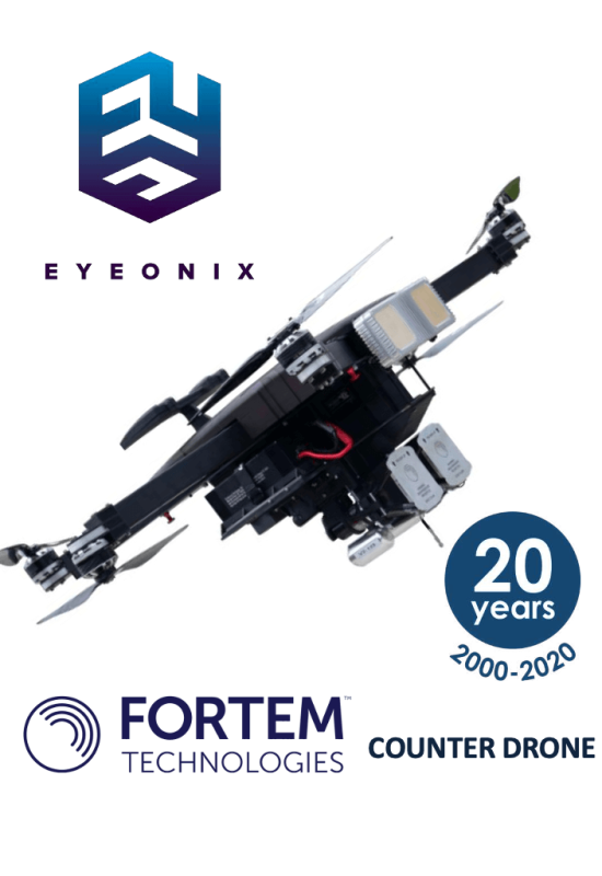 FORTEM Counter Drone System