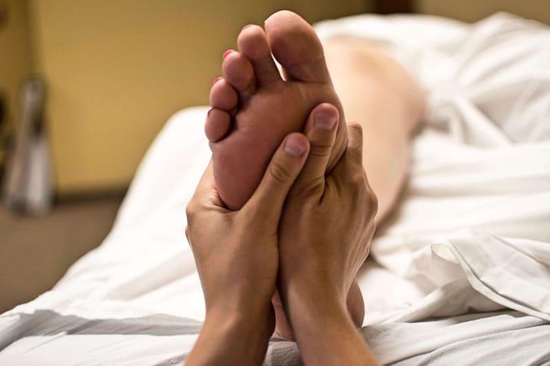 Foot and lower leg massage £15