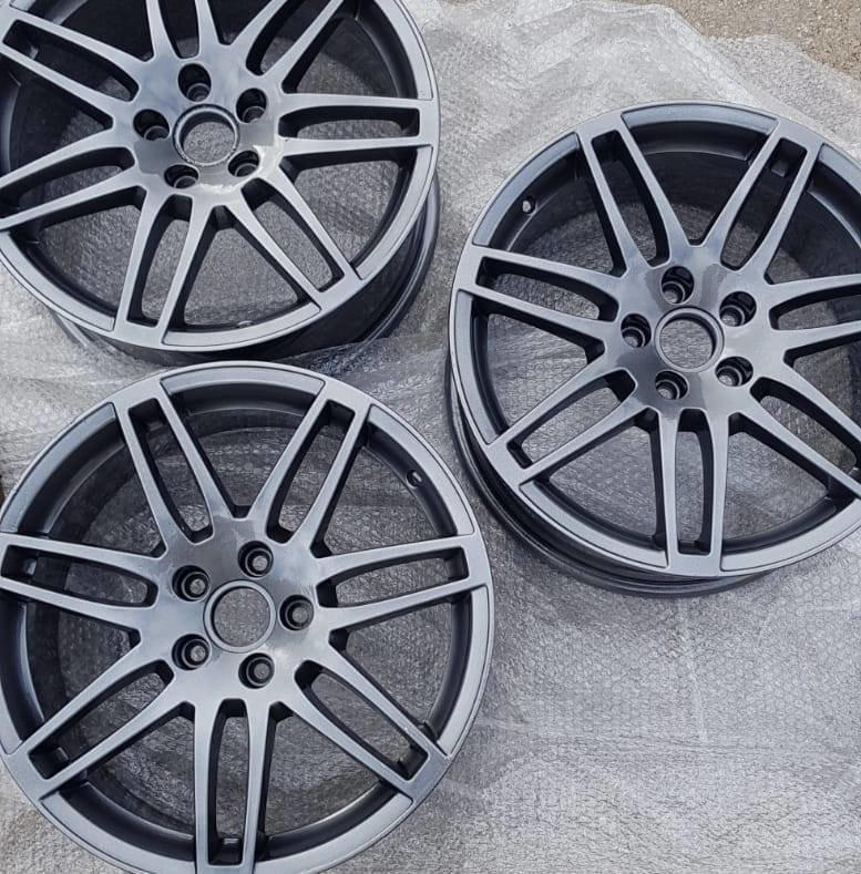 Powder Coating for Alloy Wheels