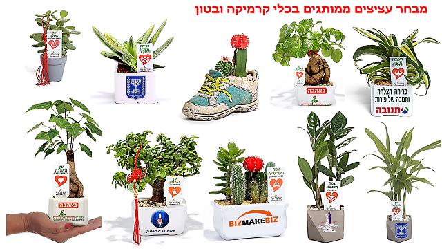 רוצים להצליח בכנס שלכם תנו עציצים ממותגים מתנה בטוח שיזכרו את הכנס שנים רבות