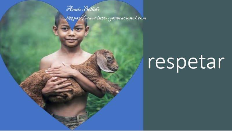 Cuidar es cuidar: respetar