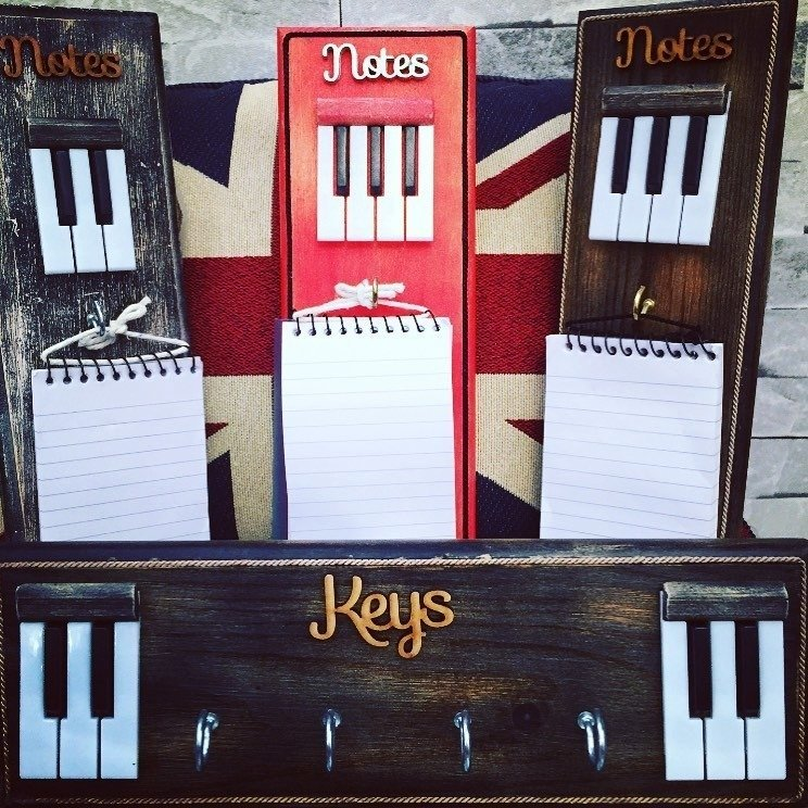 Key Holders & Notepads