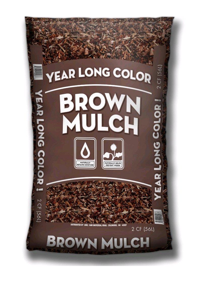 2cf Bag Brown Mulch