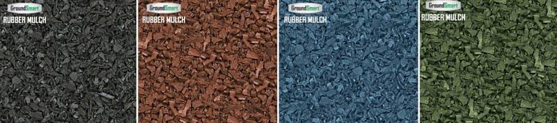 """GroundSmart"" Rubber Mulch/Choose Color"