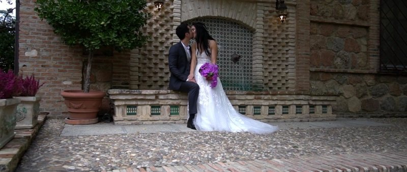 Caroline & Patrick Toledo Spain